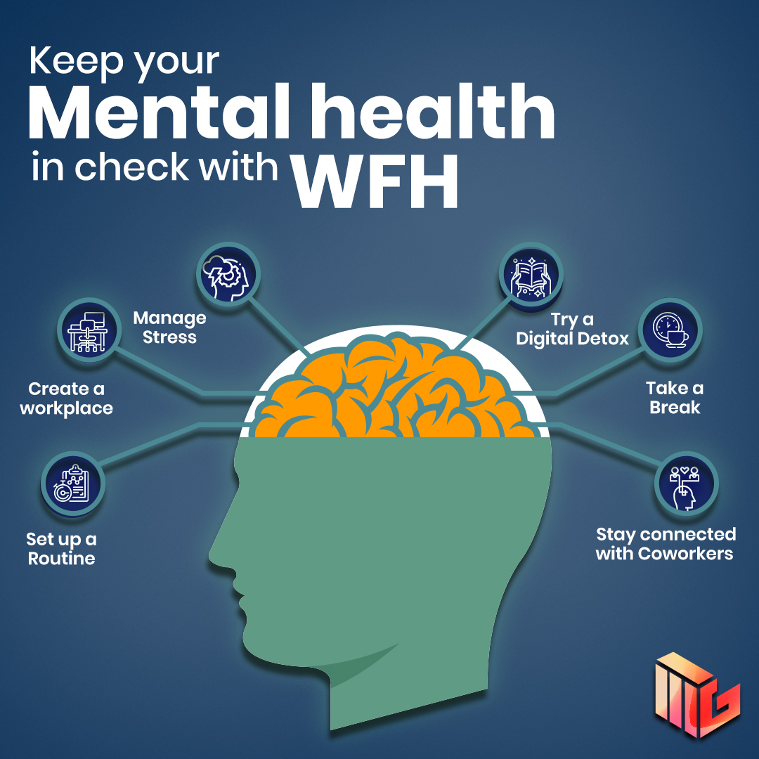 Keep Your Mental Health in Check with Work from Home (WFH)